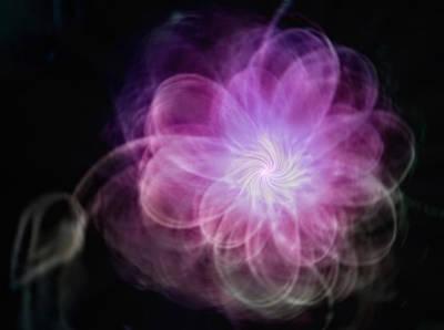 Digital Art - Blooming Energy by Kae Art