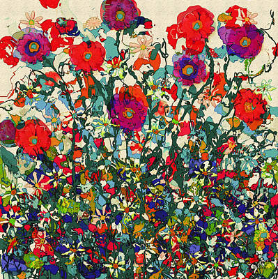 Painting - Blooming Garden by Natalie Holland