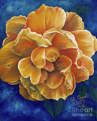 Painting - Blooming Gold by Safa Qureshi