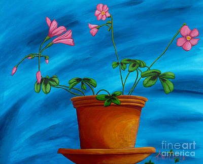 Painting - Blooming Lucky by Anthony Dunphy