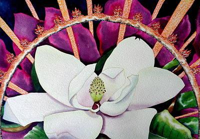 Blooming  Radiance Art Print