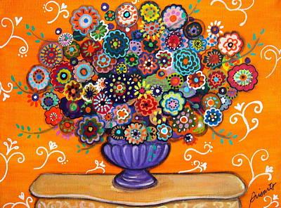 Painting - Blooms 6 by Pristine Cartera Turkus