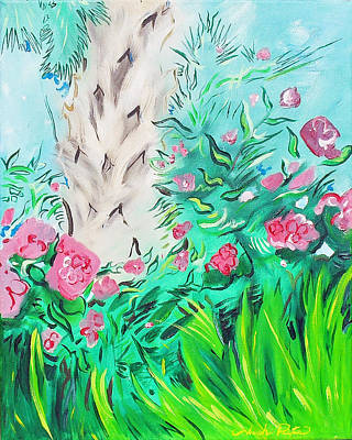 Painting - Blooms At A Glance by Joseph Palotas