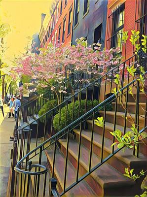Blooms Of New York Art Print