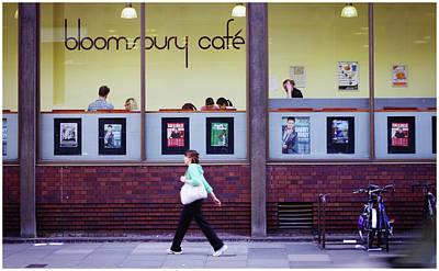 Photograph - Bloomsbury Cafe by Stewart Marsden