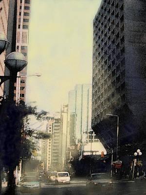 Digital Art - Bloor And Bay Streets by Ian  MacDonald