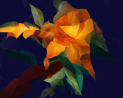 Digital Art - Blossom 100615 by David Lane