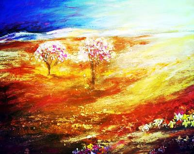 Painting - Blossom Dawn by Winsome Gunning
