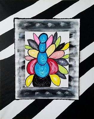 Etc. Painting - Blossom by Earnestine Clay