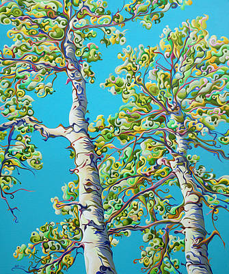 Blossoming Creativitree Art Print