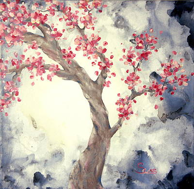 Painting - Blossoms 2 by Shiela Gosselin