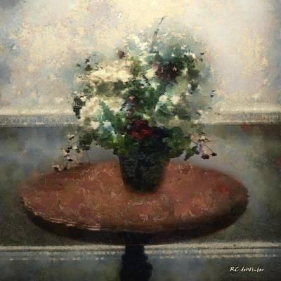 Painting - Blossoms And Stars by RC DeWinter