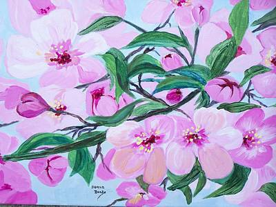Painting - Blossoms by Donna Drake