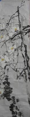 Blossoms Art Print by Min Wang