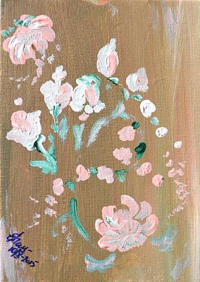 Painting - Blossoms Of Gratitide by Katerina Naumenko