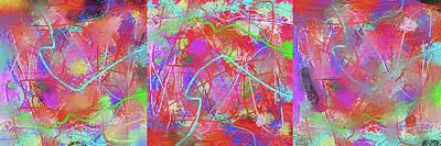 Digital Art - Blots by SC Heffner