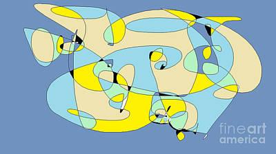 Blow Fish Digital Art - Blow Fish by Nancy Kane Chapman