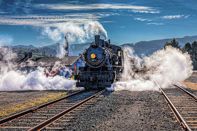 Photograph - Blowin' Off Steam by Thomas Hall
