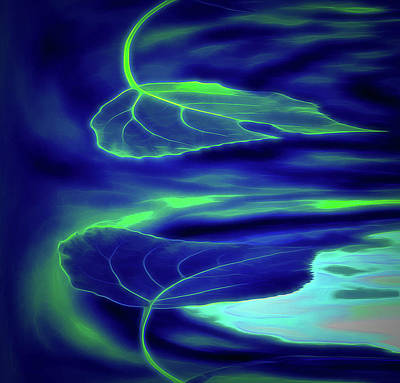 Digital Art - Blowing In The Wind by Aliceann Carlton