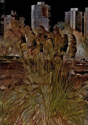 Digital Art - Blowing In The Wind by Leslie Montgomery