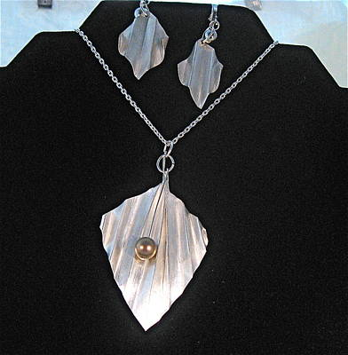 Sterling Silver Chains Jewelry - Blowing In The Wind by Louise Musto-Choate