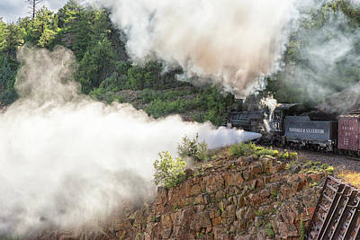 Photograph - Blowing Off Steam by Victor Culpepper
