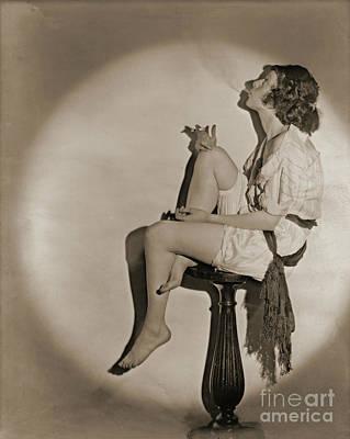 Photograph - Blowing Smoke 1922 by Padre Art