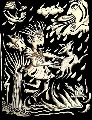 Blown Away Art Print by Betty Wick