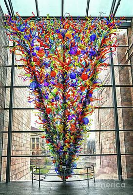 Photograph - Blown Glass Sculpture by Elizabeth Winter