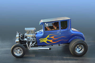 Photograph - Blown T Coupe by Bill Dutting