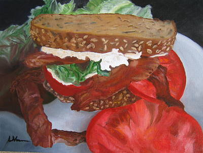 Painting - BLT by LaVonne Hand