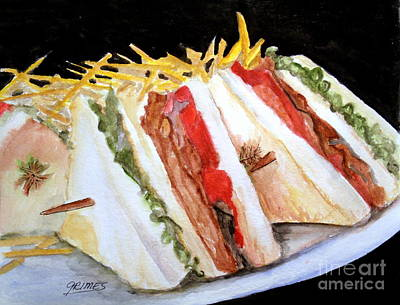 Photograph - Blt Sandwich by Carol Grimes