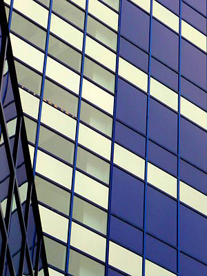 Photograph - Blue 1114 by Guntis Lauzums