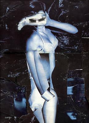 Digital Art - Blue 2 by Doug Duffey
