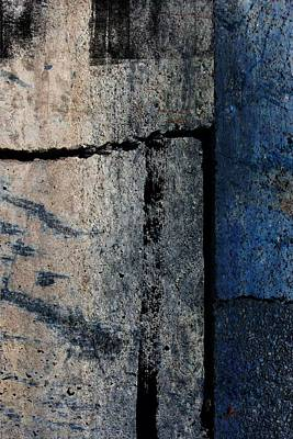 Digital Art - Blue Abstract #3 by Anita Burgermeister