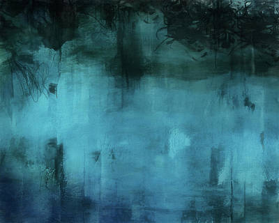 Painting - Blue Abstract 4 by Dan Sproul