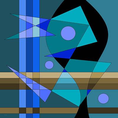 Digital Art - Kinetic by Val Arie