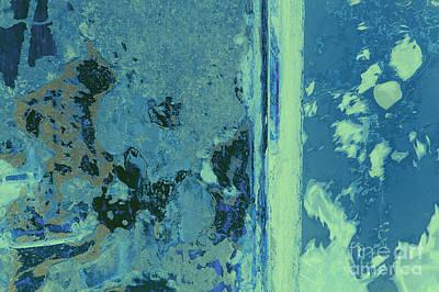 Nonrepresentational Photograph - Blue Abstraction by David Gordon