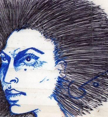 Blue Art Print by Agatha Green