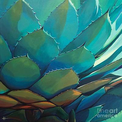 Painting - Blue Agave by Hunter Jay