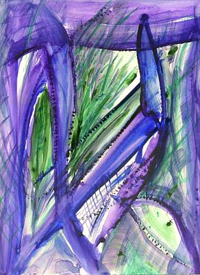 Painting - Blue Agave by Stephen Lucas