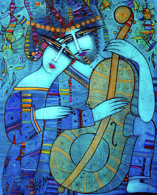 Painting - Blue by Albena Vatcheva