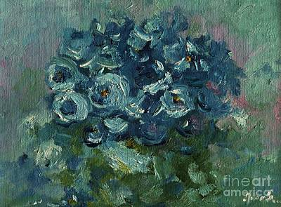 Painting - Blue by AmaS Art