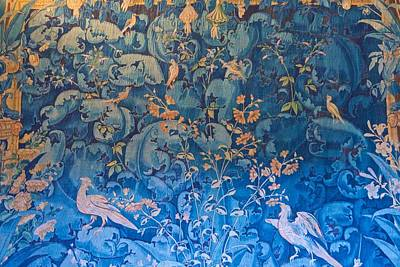 Photograph - Blue And Gold Tapestry by Eric Tressler