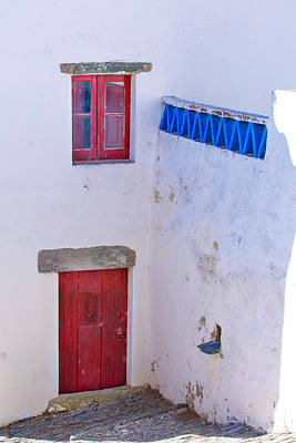 Photograph - Blue And Red by Edgar Laureano