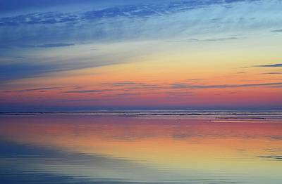 Digital Art - Blue And Violet Horizon Two  by Lyle Crump