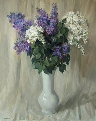 Painting - Lofty Lilacs by Robert Holden