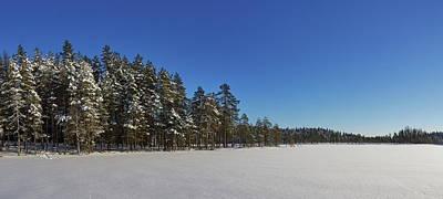 Photograph - Blue And White Panorama by Jouko Lehto