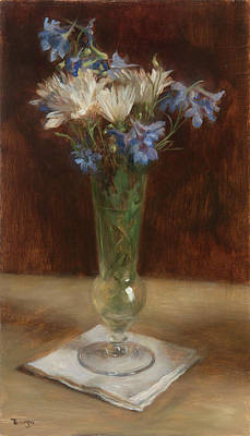 Painting - Blue And White by Thimgan Hayden