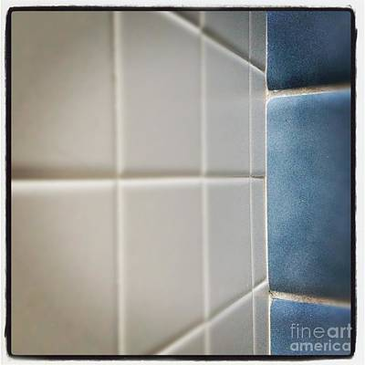 Design For Architects Photograph - Blue And White Tiles by Jason Freedman